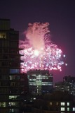 Fire works on CN Tower @f2.5 D800E