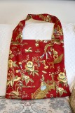 a red bag