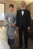 Mr. Ohsumi & his wife