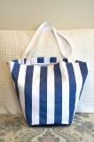 Blue stripe bag 2