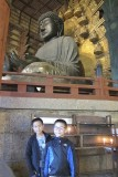 with Great buddha of Nara