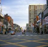 at Yonge & Bloor corner