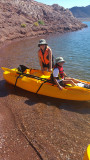 Kayaking Lake Mead
