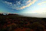 Morning Drama in the Red Desert