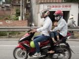 On the road Vietnam