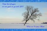 Wij wensen iedereen fijne kerstdagen en een gezond 2017
