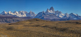 Mt Fitz Roy and Cerro Torres
