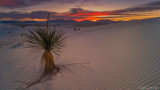 Sun Down at White Sands