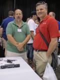 Bob Amsler, (right)