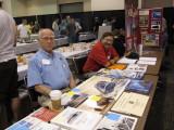 John Marx (left) at the NKP T&HS Table