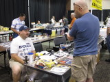 Danny at the Badger Airbrush Table