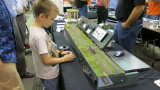 Tripping the Signal System on Iowa Scaled Engineering's signal display.