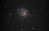 Spiral Galaxy M101 in Ursa Major