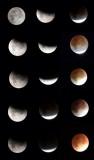 Lunar Eclipse Progression - 2014