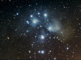 M45 Open Star Cluster in Taurus