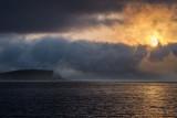 April 2014 : Sunrise over clouds, Bar Harbor
