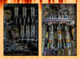 October 2015 : Fuse and switch panel lightpainting