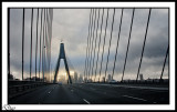 Morning Drive ANZAC Bridge.