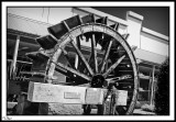 The Water Wheel In Shopping Mall.