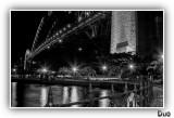 In The Park Under The Bridge.