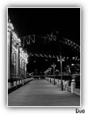 Wharf Scene Near Lunar Park Sydney.