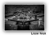 Foxton Locks Monochrome.