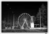 Ferris Wheel In The Park.