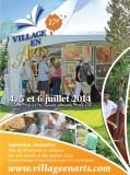 EXPOSITION d'art champêtre: Village en arts