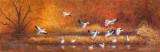Symphonie automnale - Huile 12 x 36
