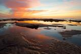 Tidepool Sunset