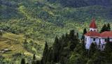 View of Sapa foothills Vietnam