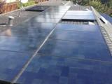solar panels pool