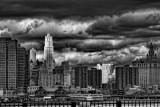 NY  The Storm BW