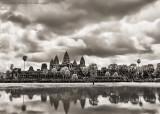 Sepia Angkor Wat