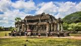 Temples inside Angkor Wat
