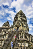 Angkor Wat  Stairs for tourists
