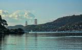 View Golden Gate Bridge from Marin Cty.