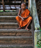 young monk Cambodia
