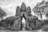 Angkor South Gate   Cambodia