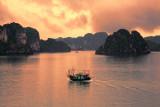 Amazing sunset Vietnam