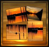An Ohio River Sunset