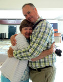 Elaine Parker Akin and Scott