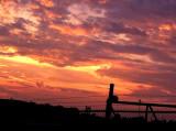 Sunset August 19, 2014
