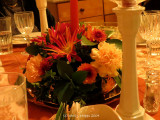 Live Flower Table Decoration.