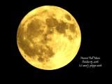 Harvest Moon,  October 15, 2016