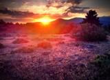 Me pilla la puesta de sol