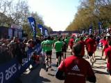 La llegada (Media Maratón de Madrid)