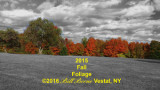 2015 Fall Foliage SlideshowVIDEO