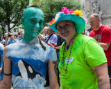 New York City Bodypainting Day, July 26, 2014
