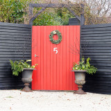 The red gate / Den røde port